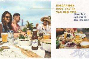 Hoegaarden tuyệt phẩm bia Bỉ