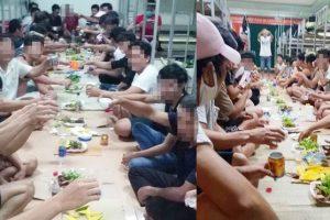 (Tiếng Việt) Tổ chức ăn nhậu tưng bừng ngay trong khu cách ly phòng dịch Covid-19